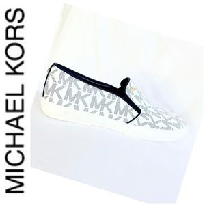 BRAND NEW MK Keaton monogram fashion sneakers